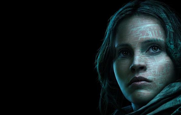 Picture cinema, Star Wars, light, wallpaper, girl, gun, woman, movie, face, brunette, film, assault rifle, uniform, …
