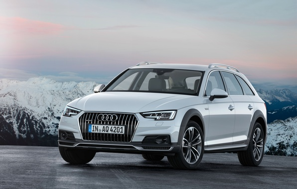 Picture Audi, Audi, white, quattro