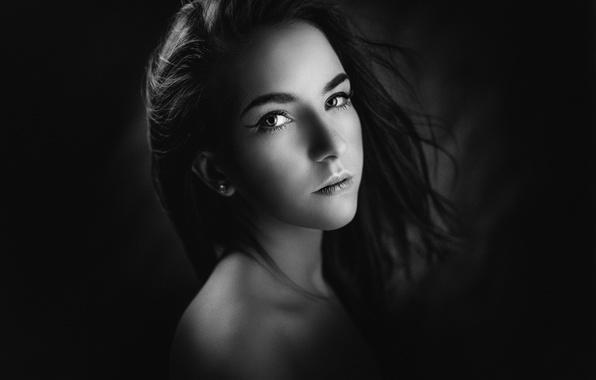 Picture background, portrait, Russia, Inna, George Chernyadev