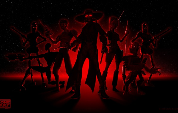 Picture star wars, star wars, the series, cartoon, mercenaries, Orr sing, the clone wars, CAD Bane, ...