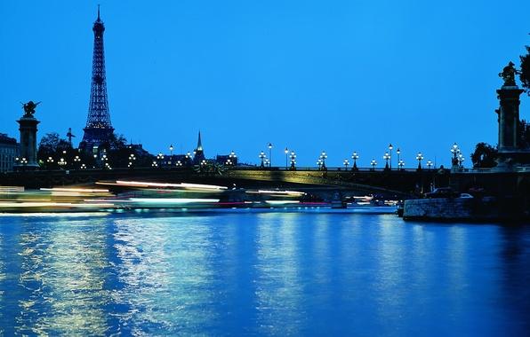 Picture Paris, Lights, Night