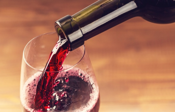 Picture red, glass, wine, liquid, drink, bottle