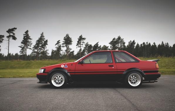 Picture toyota, corolla, ae86, Toyota, Corolla, levin