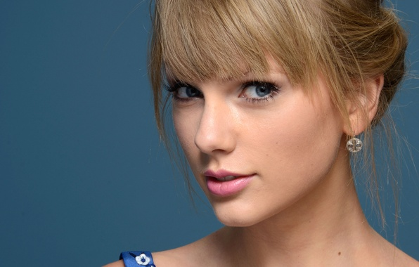 Picture look, face, background, portrait, makeup, actress, hairstyle, photographer, singer, Taylor Swift, closeup, Taylor Swift, Larry …