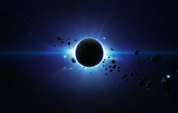 Picture Planet, Asteroids, Blue Spase, Behind the Scene