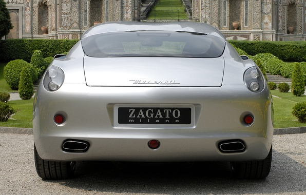 Wallpaper Maserati Silver Gs Zagato 2007 20 Images For Desktop