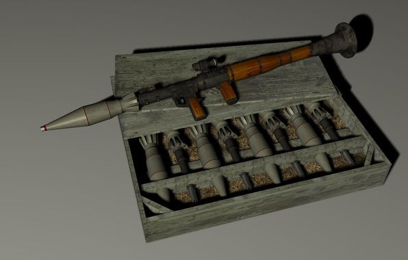 Picture weapons, RPG, grenade launcher