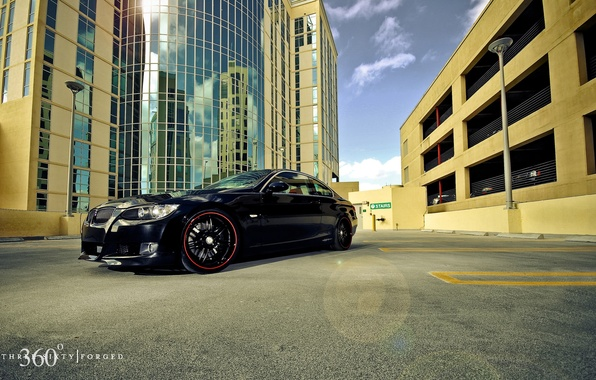 Picture the city, reflection, building, BMW, 360, Forged, 335i, Split seven