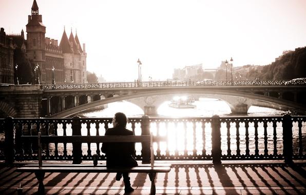 Picture people, Paris, home, morning, paris