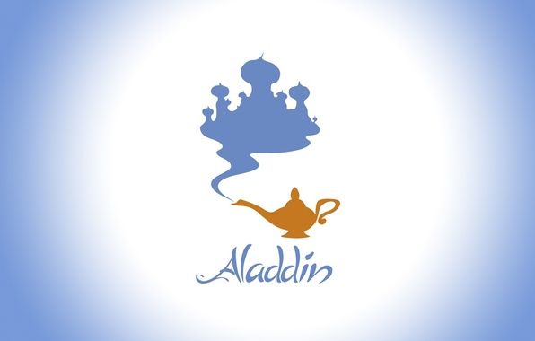 Picture lamp, Disney, Palace, Aladdin, Disney, Aladdin