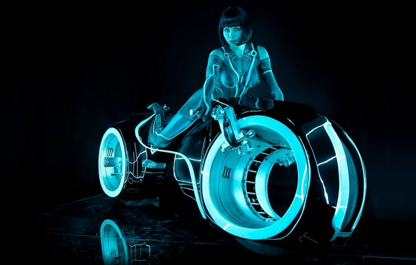 Picture Girl, sexy, girls, Tron, Movies