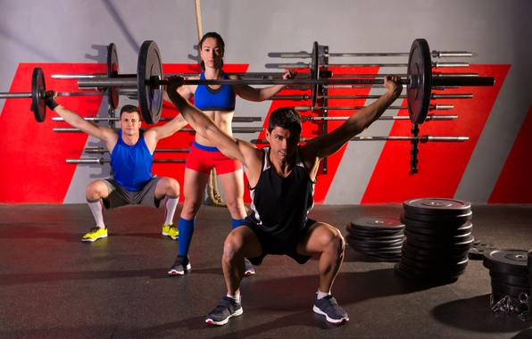 Picture girl, sport, sport, guys, training, training, guys, bars, rod, a girl