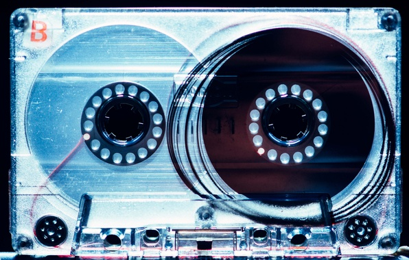 Picture macro, music, film, cassette