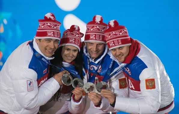 Picture Russia, Sochi 2014, The XXII Winter Olympic Games, Luge, Albert Demchenko, Tatyana Ivanova, team relay …