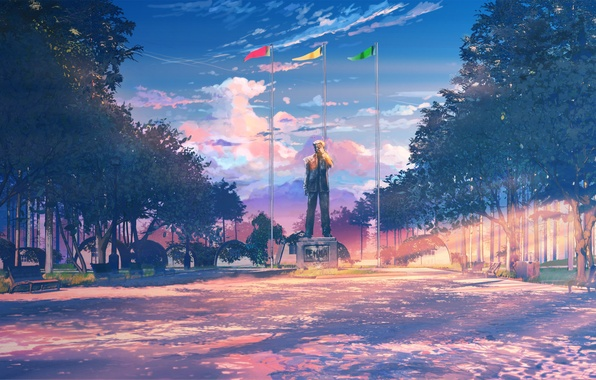 Picture monument, camp, everlasting summer, endless summer, iichan-eroge