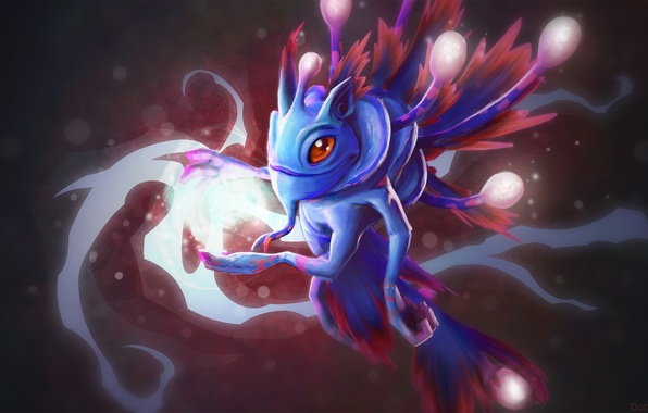 wallpaper puck dota 2 magic dragon magic art images for