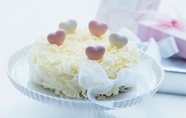 Picture food, tape, hearts, cake, cake, dessert, cake, sweet, treat