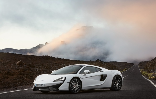Picture white, McLaren, supercar, white, car, auto, 570GT