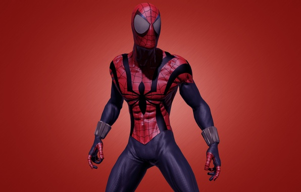 Picture red, red, marvel, comic, comics, Spider-man, Spider-Man