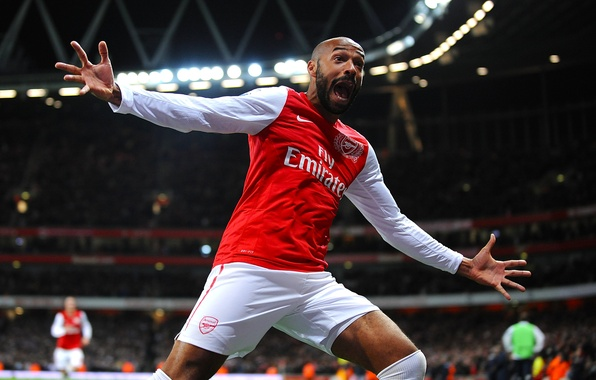 Picture arsenal, football, henry, Legend