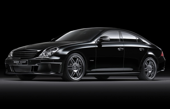 Picture black, Auto, Brabus, Mercedes Benz, V12 S
