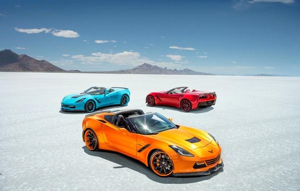 Picture Corvette, Chevrolet, convertible, Chevrolet, Stingray, Corvette