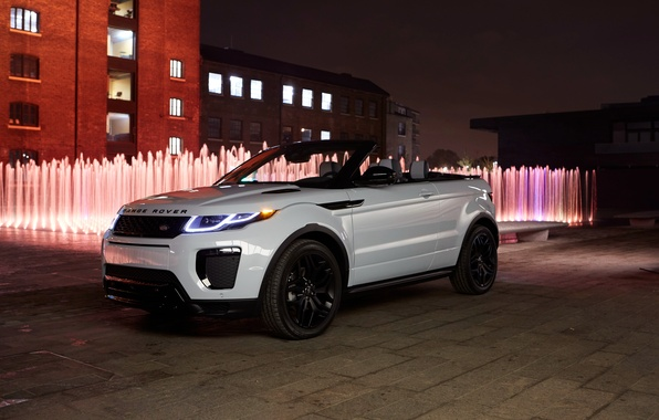 Picture white, Land Rover, Range Rover, Evoque, Ewok, land Rover, range Rover