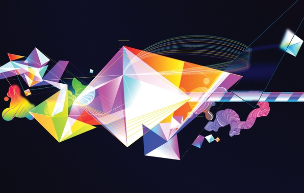 Picture line, vector, triangle, Oit8doi2, Bruno Borges