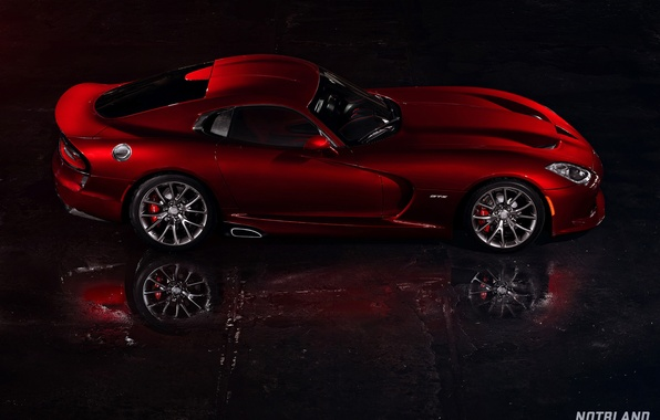 Picture machine, auto, reflection, Dodge, Viper, auto, side, GTS, SRT, notbland, Webb Bland, Media Kit
