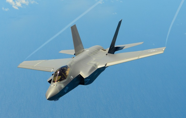 Picture fighter, bomber, Lightning II, Lockheed Martin, F-35A