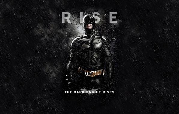Picture Batman, Black background, Batman, The Dark Knight Rises, Christian Bale, The dark knight: the legend, …