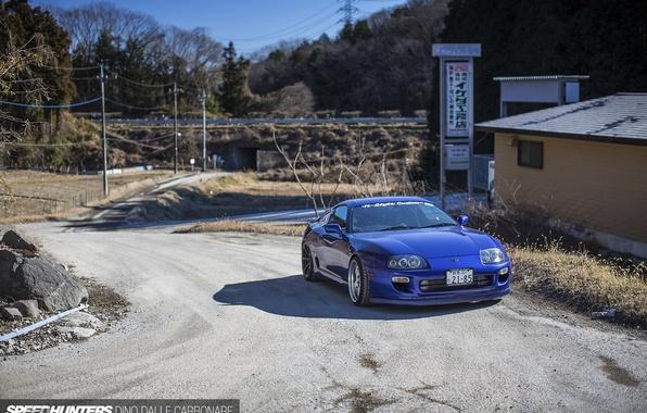 Photo wallpaper Toyota, Supra, JDM