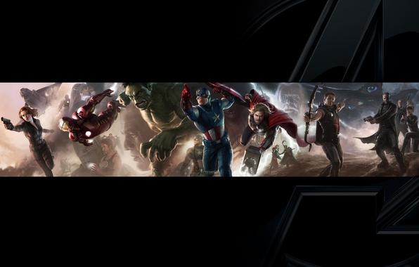 Picture Hulk, iron man, marvel, Thor, marvel, Captain America, thor, iron man, Black Widow, the Avengers, …