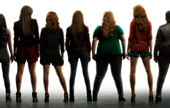 Picture music, poster, Comedy, Brittany Snow, Hailee Steinfeld, Anna Kendrick, Anna Camp, Pitch Perfect-2, Perfect voice-2, …