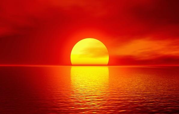 Wallpaper sea the sun sunset red horizon images for desktop photo wallpaper sea the sun sunset red horizon altavistaventures Gallery