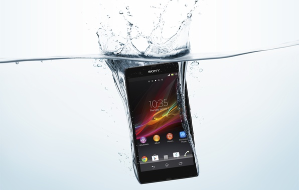 Picture sony, xperia, mobile, waterproof