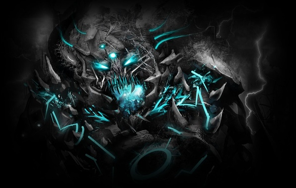 Picture music, monster, music, Dubstep, dubstep, Excision