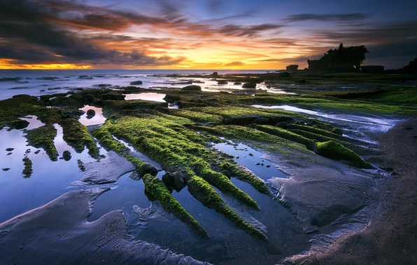 Picture beach, Bali, Indonesia, Tanah Lot