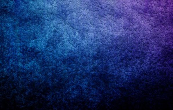Picture wave, purple, blue, patterns, texture, curves