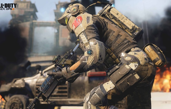 Picture future, war, soldiers, Call of Duty: Black Ops 3