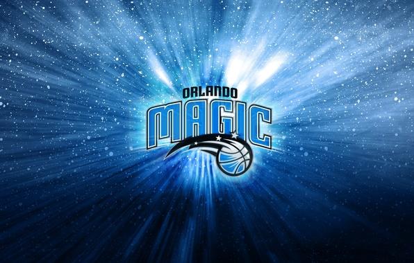 Picture Blue, Star, Basketball, Magic, Background, Logo, Orlando, NBA, Orlando Magic