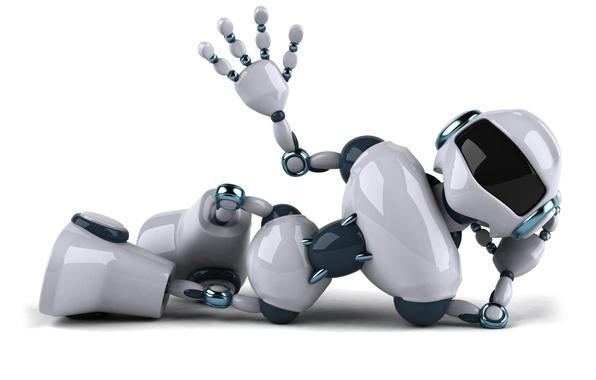 Picture robot, Robot, all, welcome, aloha!, barewa