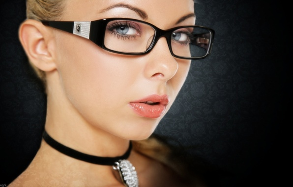 Picture sexy, model, look, women glasses