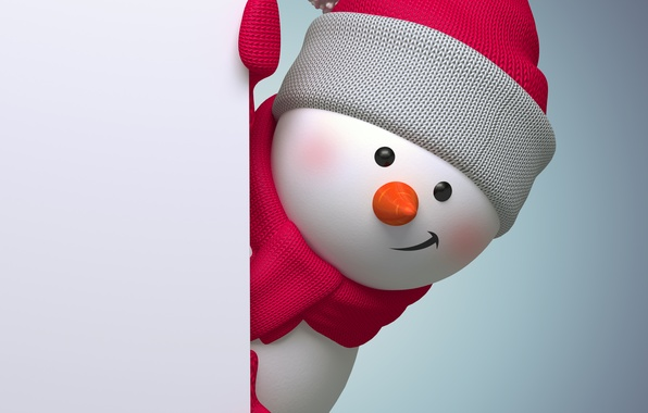 snowman new year screensavers