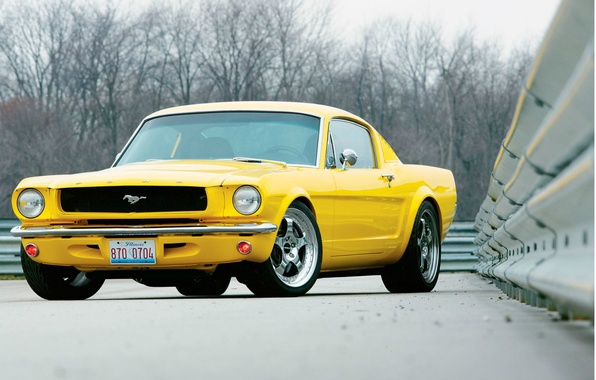 Picture Wallpaper, Mustang, Ford, Muscle, Car, 1965, wallpapers