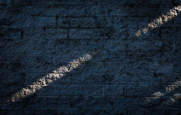 Picture light, wall, texture