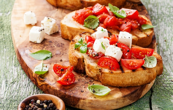 Picture photo, Tomatoes, Food, Spices, Fast food, Cheese, Sandwiches