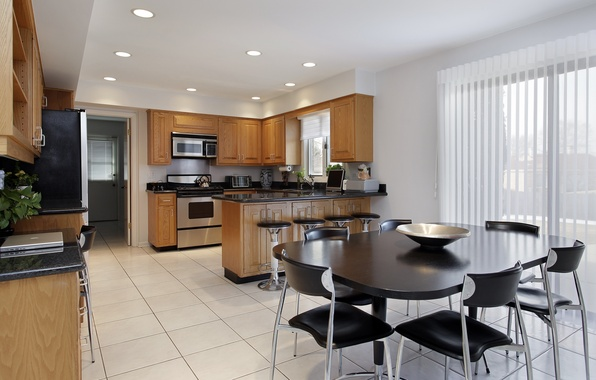 Picture design, style, room, interior, kitchen, dining room