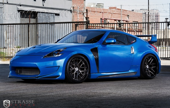 Picture nissan, 370z, forged, strasse