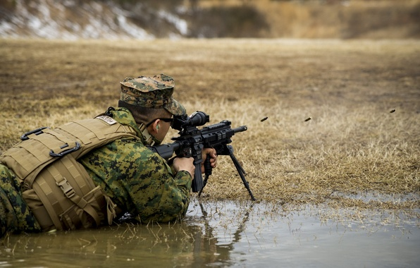 Picture M27, United States Marine Corps, Automatic Rifle